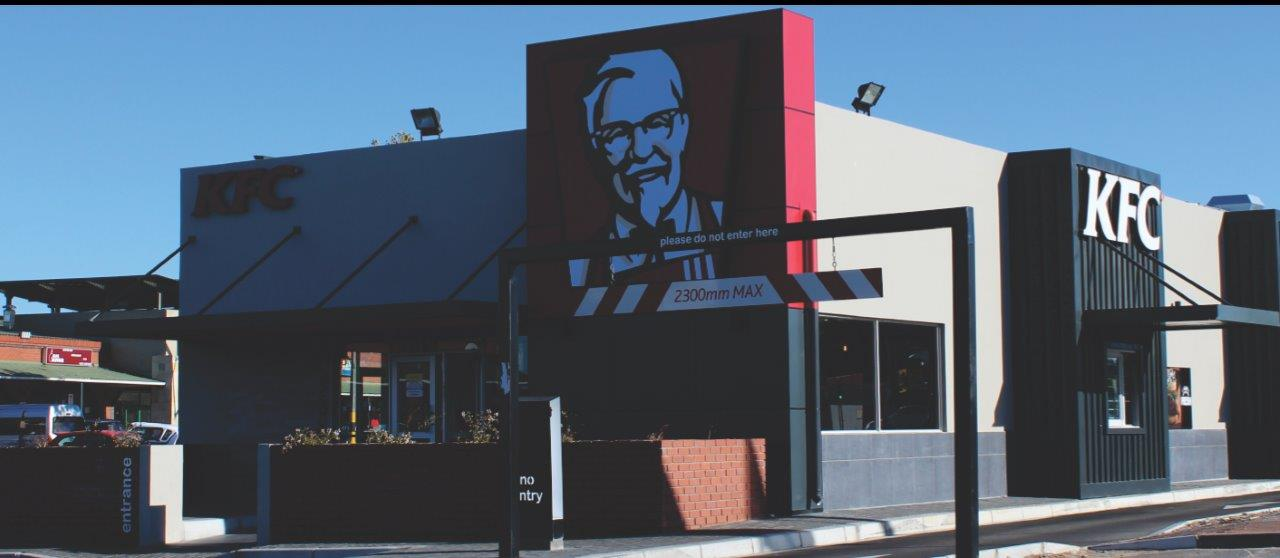 Light Steel Frame Structures Cape Town South Africa: KFC Kuilsrivier Cape Town